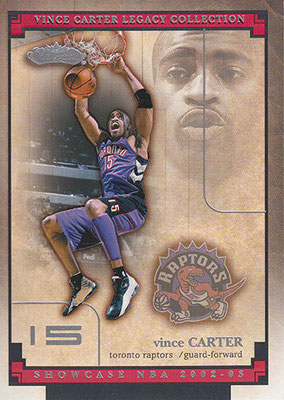 2002-03 Fleer Showcase Vince Carter Legacy Collection #VCL9 Vince Carter