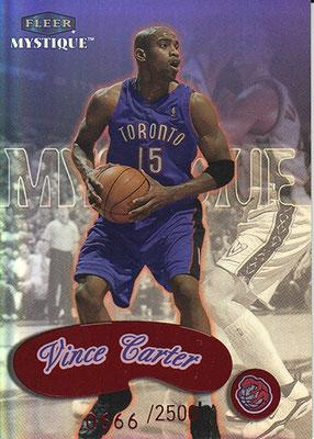 1999-00 Fleer Mystique #142 Vince Carter STAR