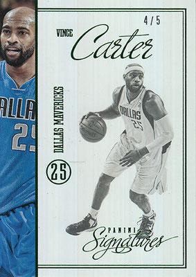 2012-13 Panini Signatures Stars Green #206 Vince Carter