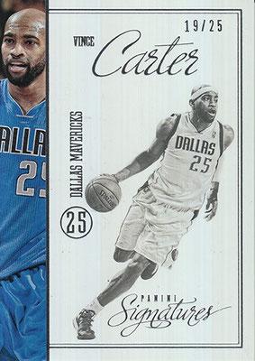 2012-13 Panini Signatures Stars #209 Vince Carter