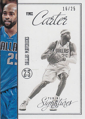2012-13 Panini Signatures Stars #210 Vince Carter