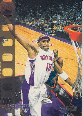 2002-03 Stadium Club Photo Proof Parallel #30 Vince Carter