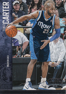 2012-13 Panini Threads Century Proof Silver #28 Vince Carter