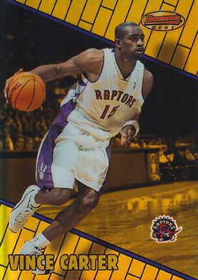 1999-00 Bowman's Best Refractors #1 Vince Carter