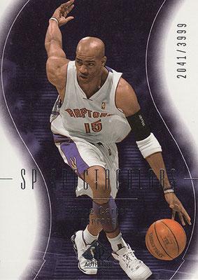 2003-04 SP Authentic #124 Vince Carter SPEC