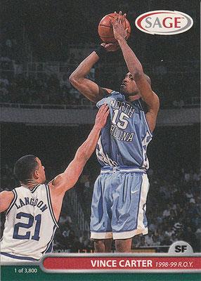 1999 SAGE #11 Vince Carter