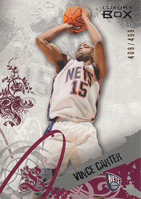 2006-07 Topps Luxury Box Red #6 Vince Carter
