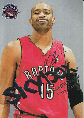 2003-04 SkyBox Autographics Insignia Silver #1 Vince Carter