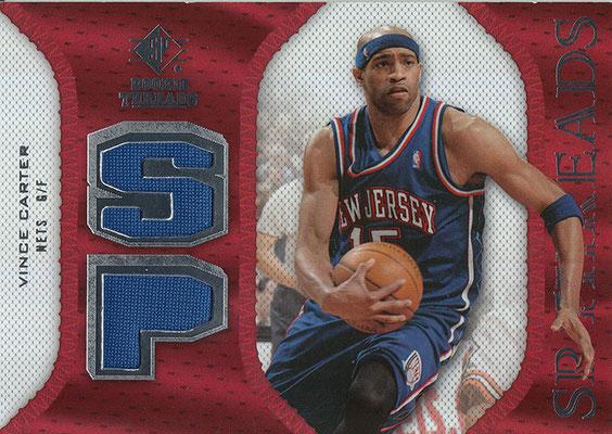 2007-08 SP Rookie Threads SP Threads #SPVC Vince Carter
