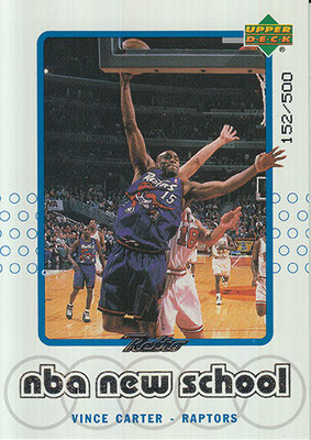 1999-00 Upper Deck Retro Old S New S Parallel #S24 Vince Carter