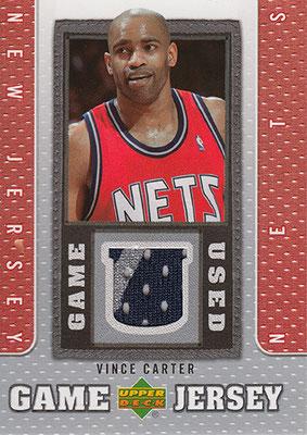 2007-08 Upper Deck UD Game Jersey #VC Vince Carter