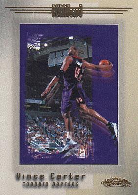 2001-02 Fleer Showcase #87 Vince Carter AVANT