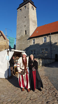 Mittelaltermarkt auf der Wasserburg Egeln