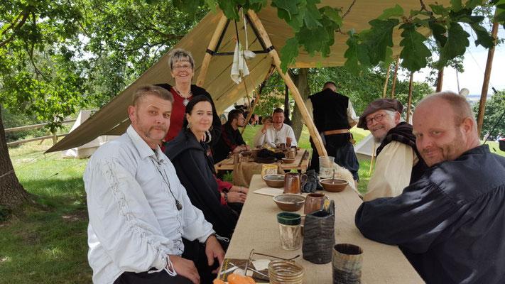 Teilnahme am Mittelaltermarkt auf Burg Regenstein