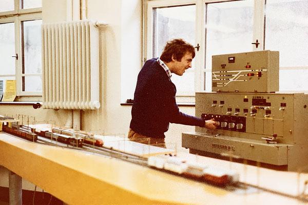 1978: Das war nicht mein Lieblingsthema: Fahrdienst und Stellwerkkunde