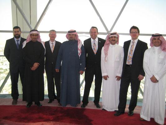 "Die ""Zürich-Delegation"" in Jeddah / Saudiarabien"