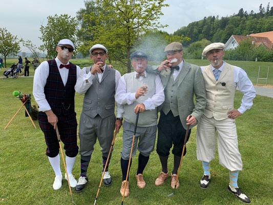 Immer mehr begeisterte Hickory Golfer kamen in unseren Club