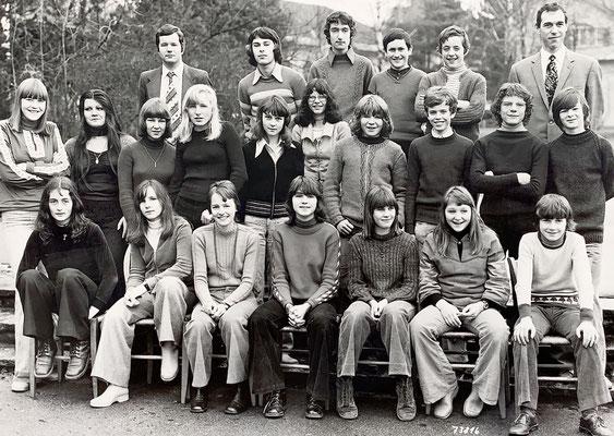 1973: 2. Sek: Wo bin ich (gleiche Haltung wie in 1. Kl.)