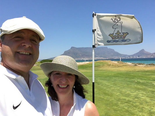 Auch cool war unsere einjährige Mitgliedschaft im Milnerton Golf Club