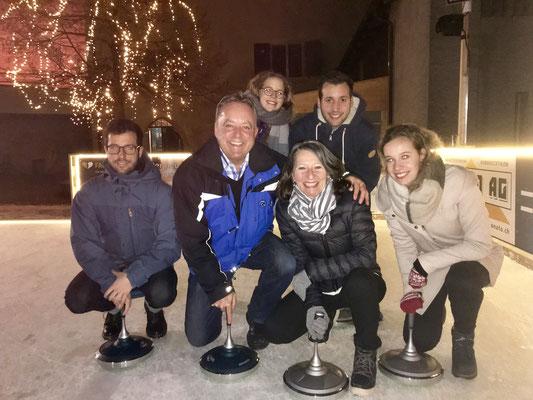 2019: Family-Eisstock-Challenge in Grüningen