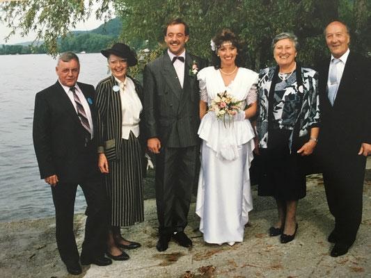 Feststimmung in Gottlieben am Bodensee