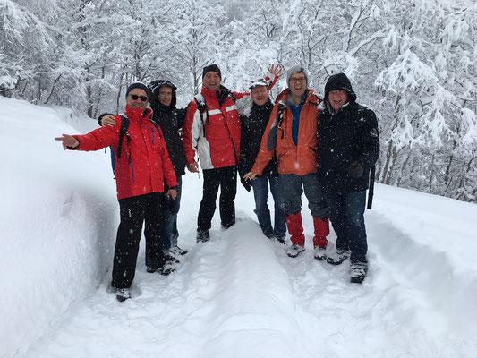 Seit ein paar Jahren entdecken wir die Schweiz im Winter - natürlich OHNE Ski...