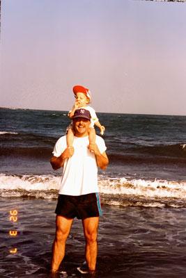 7.3.1992: Erste Badeferien von Marcel in Gran Canaria