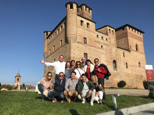 Genuss und Ferien trifft auch auf das Piemont. Auch da waren wir oft und gerne. Wie hier mit dem FC BP 2018