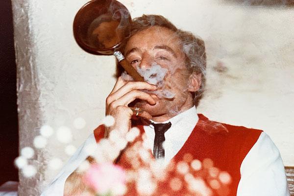 Genussvolles Rauchen hat mir schon früh gefallen ....