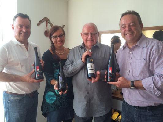 Papi's 89. Geburtstag mit LAUBER-Weinen