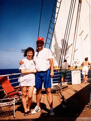Eine Woche auf dem Luxus-Viermaster Lili Marleen in der Karibik. Faszinierend - aber Bahnfahren ist viel genussvoller!