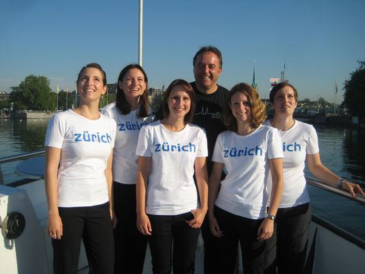 """Einer der vielen """"Zürich-Events"""" mit einem Teil von meinem Team"""