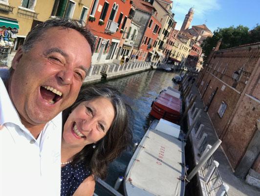 Aber auch Venedig fasziniert uns immer wieder.