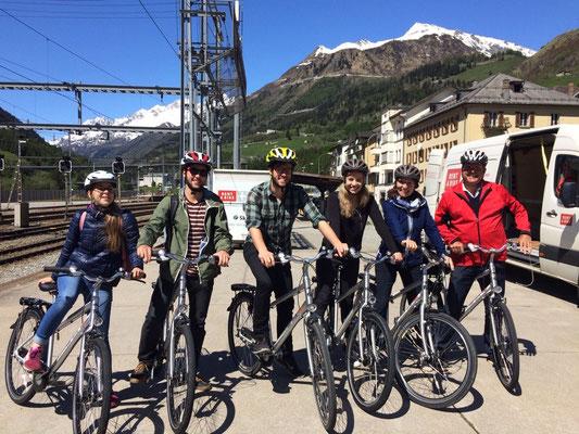 2017: Family-Ausflug Veloplausch Gotthard Süd