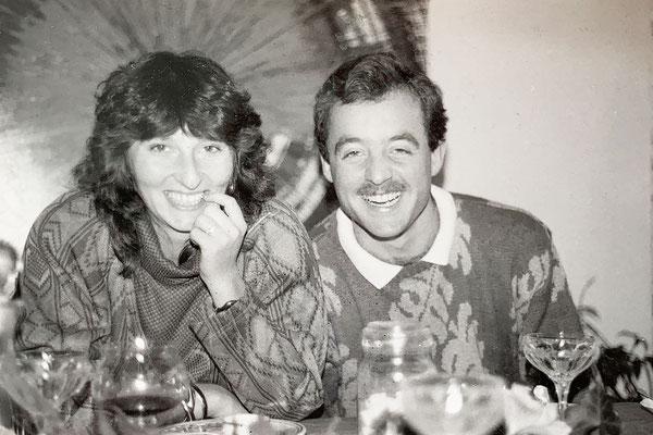 1986: Vorstellungsrunde bei Michèles Eltern