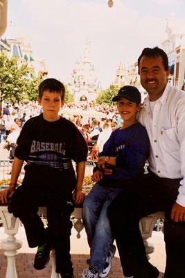07/2000: Mit dem TGV ins Disneyland Paris