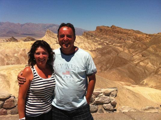 2012 sind wir mit den Jungs durch Kalifornien. Besonders faziniert hat uns unter anderem das Death Valley