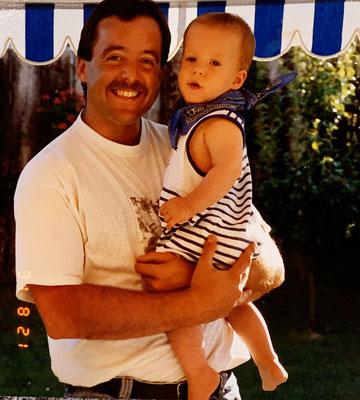 21.8.91: Marcel und sein stolzer Vater