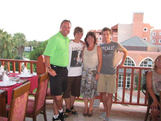 07/2007: Türkei-Ferien kurz vor der Abreise von Marcel für ein Jahr nach USA