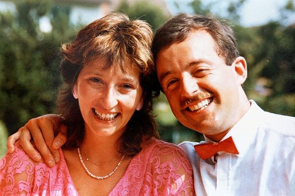 "1987: Unser ""offizielles Verlobungsfoto*"