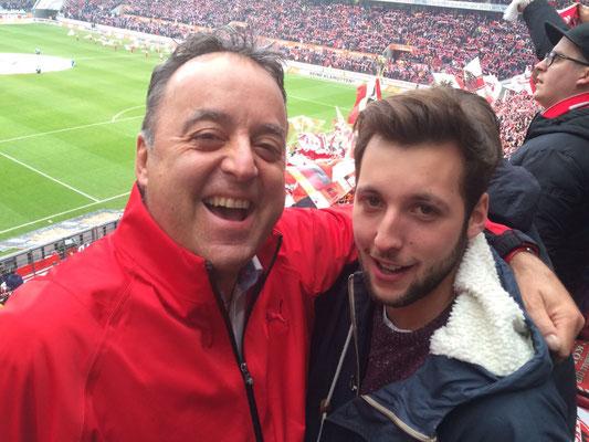 Mit Marino im Stadion vom FC Köln - ein wunderbares Erlebnis
