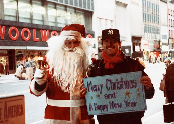 Jährliche Neujahrsgrüsse mal mit Santa ,,,