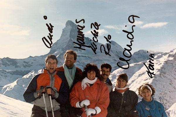 1986: Unsere ersten gemeinsamen Ferien