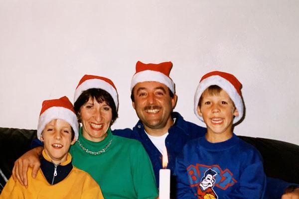 12/1998: Jetzt freuen wir uns so richtig auf Weihnachten