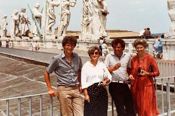 Ausflug nach Rom mit Gery, Hedy und Hermi