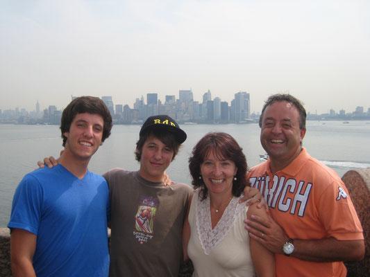 2008: Ferien in Florida und New York - und Marcel kommt endlich zurück aus den USA...