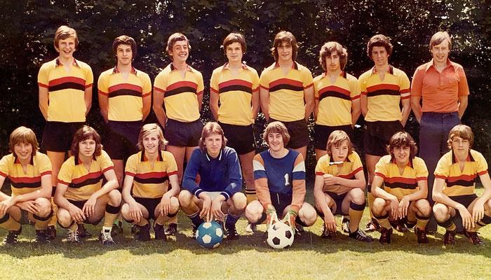 1977: Junioren Inter B2; Ein toller Einstieg in meine Fussballwelt