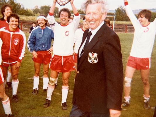 Die letzten drei Jahre war ich Captain - auch als wir gegen Schottland in Edinburgh gewannen