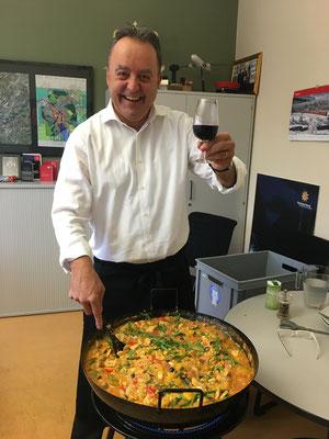 Da koche ich gerne regelmässig meine Paella