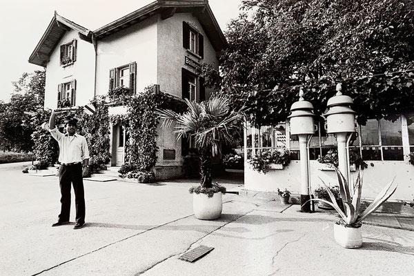 1984: An diesem Tag kam wegen einem Dampfzug ein Journalist und machte ein paar Fotos